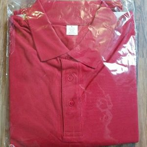 Other - Men's Red Polo • NEW • Size Large